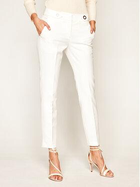 Trussardi Trussardi Chinosy Light Technical 56P00283 Biały Slim Fit