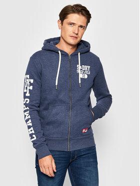 Superdry Superdry Džemperis T&F M2011455A Mėlyna Regular Fit