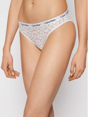 Calvin Klein Underwear Calvin Klein Underwear Klasické kalhotky 000QD3860E Bílá