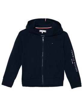TOMMY HILFIGER TOMMY HILFIGER Sweatshirt Essential Zip KG0KG05491 D Dunkelblau Regular Fit
