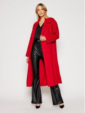 MICHAEL Michael Kors MICHAEL Michael Kors Gyapjú kabát Eva MF02J7PGBX Piros Regular Fit