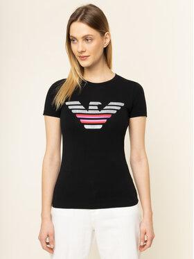 Emporio Armani Emporio Armani T-Shirt 3H2T8A 2J07Z 0999 Černá Slim Fit