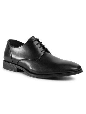 Clarks Clarks Pantofi Gilman Plain 261475787 Negru