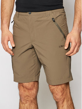 CMP CMP Short de sport 30T6177 Marron Regular Fit