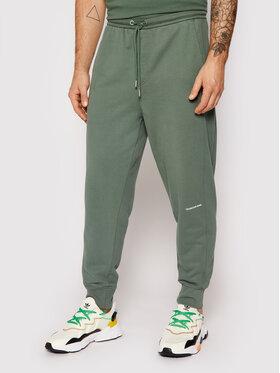 Calvin Klein Jeans Calvin Klein Jeans Долнище анцуг J30J317688 Зелен Regular Fit