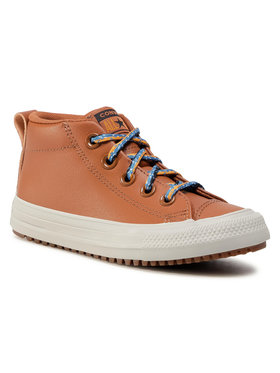 Converse Converse Sneakersy Ctas Street Boot Md 668490C Hnědá