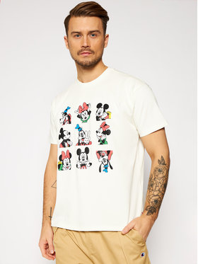Levi's® Levi's® Póló DISNEY Mickey & Friends A0612-0002 Fehér Regular Fit