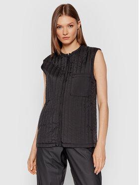 Rains Rains Mellény Unisex Liner Vest 1832 Fekete Regular Fit