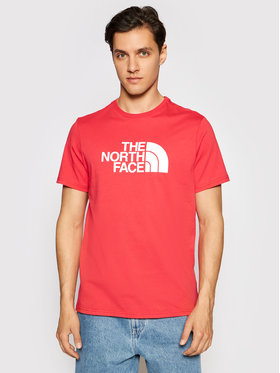 The North Face The North Face Tričko Easy Tee NF0A2TX3V341 Červená Regular Fit