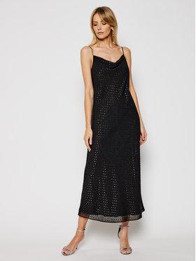 Trussardi Trussardi Коктейлна рокля 56D00486 Черен Regular Fit