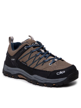 CMP CMP Трекінгові черевики Kids Rigel Low Trekking Schoes Wp 3Q13244J Коричневий