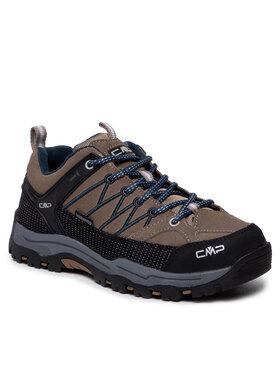 CMP CMP Туристически Kids Rigel Low Trekking Schoes Wp 3Q13244J Кафяв