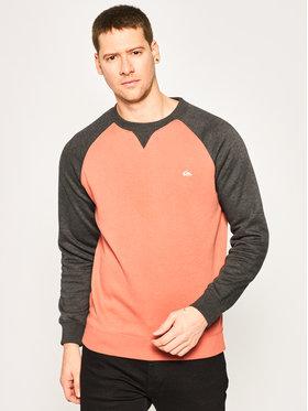 Quiksilver Quiksilver Sweatshirt Everyday EQYFT04139 Orange Regular Fit