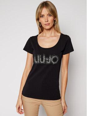 Liu Jo Liu Jo T-Shirt WA1060 J5003 Schwarz Slim Fit