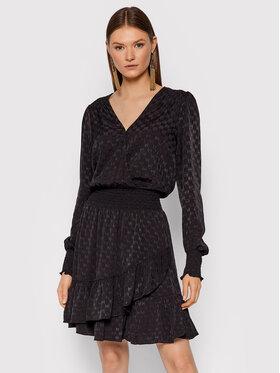 MICHAEL Michael Kors MICHAEL Michael Kors Ежедневна рокля Julia MF18XEY378 Черен Regular Fit