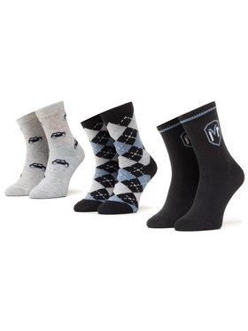 Mayoral Mayoral Комплект 3 чифта къси чорапи детски 10831 Тъмносин