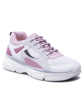 Geox Geox Sneakersy J Lunare G. D J02BGD 01422 C0674 D Bílá