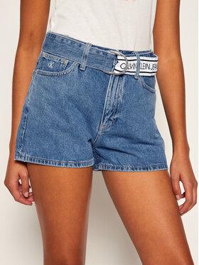 Calvin Klein Jeans Calvin Klein Jeans Дънкови шорти J20J214019 Син Regular Fit