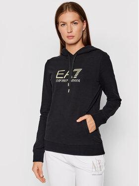 EA7 Emporio Armani EA7 Emporio Armani Majica dugih rukava 8NTM36 TJCQZ 0200 Crna Regular Fit