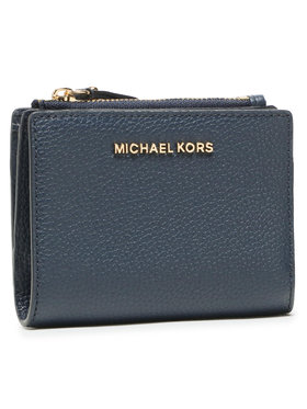 MICHAEL Michael Kors MICHAEL Michael Kors Malá dámska peňaženka Jet Set 34F9GJ6F2L Tmavomodrá