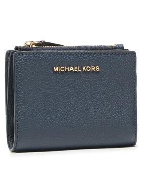 MICHAEL Michael Kors MICHAEL Michael Kors Малък дамски портфейл Jet Set 34F9GJ6F2L Тъмносин