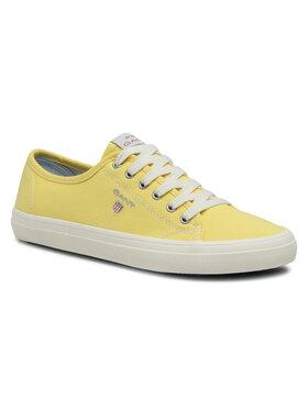 Gant Gant Sneakers aus Stoff Preptown 22538614 Gelb