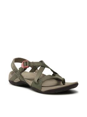 Teva Teva Sandale W Ascona Cross Strap 1118936 Zelena