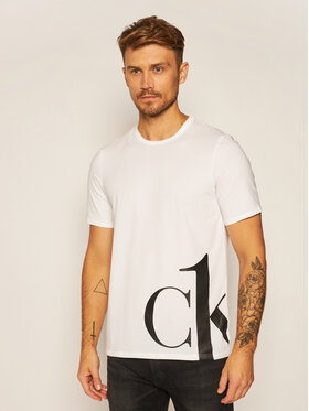 Calvin Klein Underwear Calvin Klein Underwear Tricou Crew 000NM1904E Alb Regular Fit