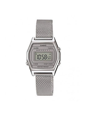 Casio Casio Ρολόι LA690WEM-7EF Ασημί