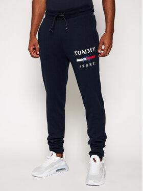 Tommy Sport Tommy Sport Pantaloni da tuta Graphic S20S200588 Blu scuro Regular Fit