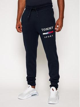 Tommy Sport Tommy Sport Teplákové kalhoty Graphic S20S200588 Tmavomodrá Regular Fit