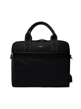 Boss Boss Geantă pentru laptop First Class 50460452 Negru