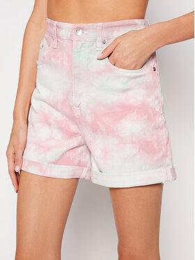 Tommy Jeans Tommy Jeans Szorty jeansowe Mom Random DW0DW10463 Różowy Mom Fit