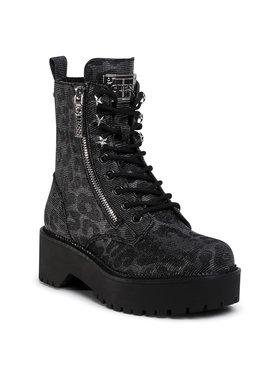 Guess Guess Outdoorová obuv Tayte FL7TAE FAP10 Čierna