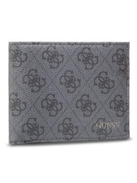 Guess Guess Veľká pánska peňaženka Vezzola Slg SMVEZ LEA38 Čierna