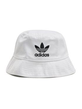 adidas adidas Klobúk Trefoil Bucket Hat FQ4641 Biela