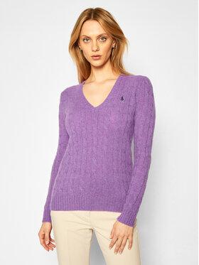 Polo Ralph Lauren Polo Ralph Lauren Pulover Lsl 211508656066 Violet Regular Fit