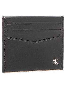 Calvin Klein Jeans Calvin Klein Jeans Kreditinių kortelių dėklas Cardcase 6Cc K50K506187 Juoda