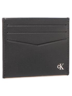 Calvin Klein Jeans Calvin Klein Jeans Puzdro na kreditné karty Cardcase 6Cc K50K506187 Čierna