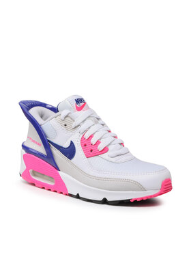 Nike Nike Boty Air Max 90 Flyease (GS) CV0526 105 Bílá