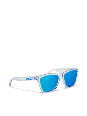 Oakley Oakley Okulary przeciwsłoneczne Frogskin 0OO9013-D055 Niebieski