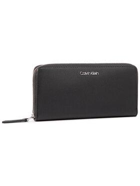 Calvin Klein Calvin Klein Velká dámská peněženka Ck Must Ziparound Lg K60K606698 Černá