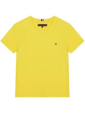 TOMMY HILFIGER TOMMY HILFIGER T-Shirt Essential KB0KB06130 D Κίτρινο Regular Fit