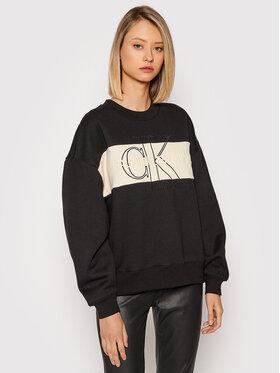 Calvin Klein Jeans Calvin Klein Jeans Bluza J20J216448 Czarny Relaxed Fit