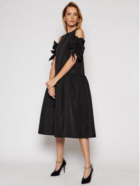 Victoria Victoria Beckham Victoria Victoria Beckham Koktel haljina Compact Poly Faille 2121WDR002324A Crna Regular Fit