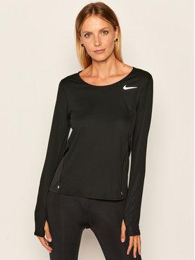 Nike Nike Koszulka techniczna Running Top CJ2020 Czarny Standard Fit