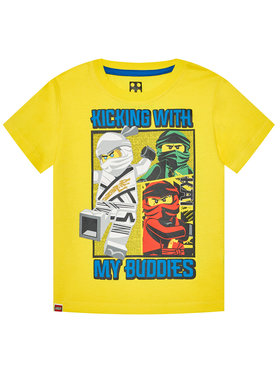 LEGO Wear LEGO Wear Marškinėliai 12010095 Geltona Regular Fit
