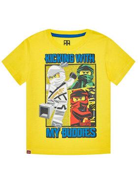 LEGO Wear LEGO Wear Tričko 12010095 Žltá Regular Fit