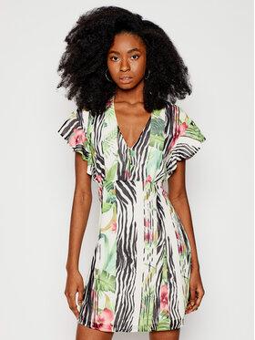 Guess Guess Každodenní šaty W1RK0B W70Q0 Barevná Slim Fit