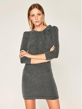 IRO IRO Koktejlové šaty Perk AN077 Čierna Slim Fit